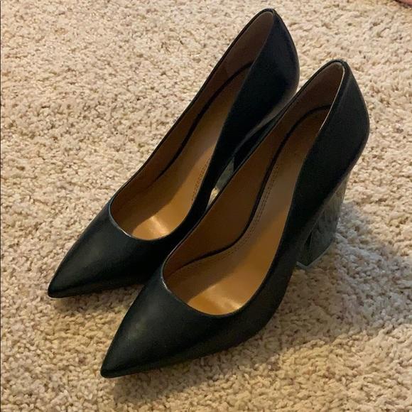 a8c8f097cb Tory Burch Shoes | Francesca Block Heel Pumps | Poshmark